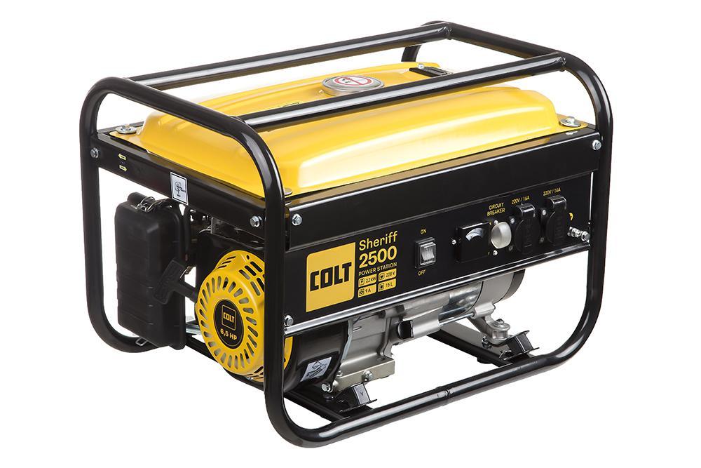 Купить со скидкой Бензиновый генератор Colt Sheriff 2500 (499103)