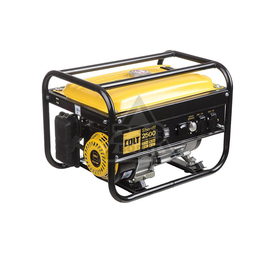 Бензиновый генератор COLT Sheriff 2500 (499103)