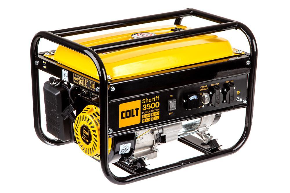 Бензиновый генератор Colt Sheriff 3500 (499202) генератор бензиновый masteryard mgv 3000re