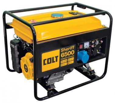 Бензиновый генератор Colt Sheriff 6500 (49970 250 020)