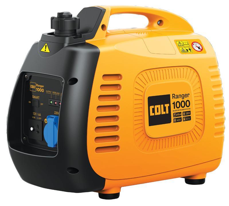 Бензиновый генератор Colt Ranger 1000 (499509)