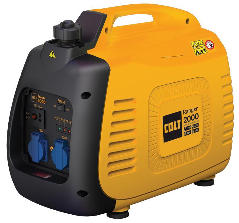 Купить со скидкой Бензиновый генератор Colt Ranger 2000 (499608)