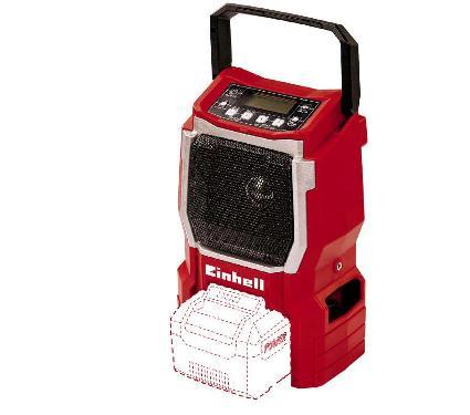 Радио EINHELL PXC TE-CR 18 Li-Solo (3408015)