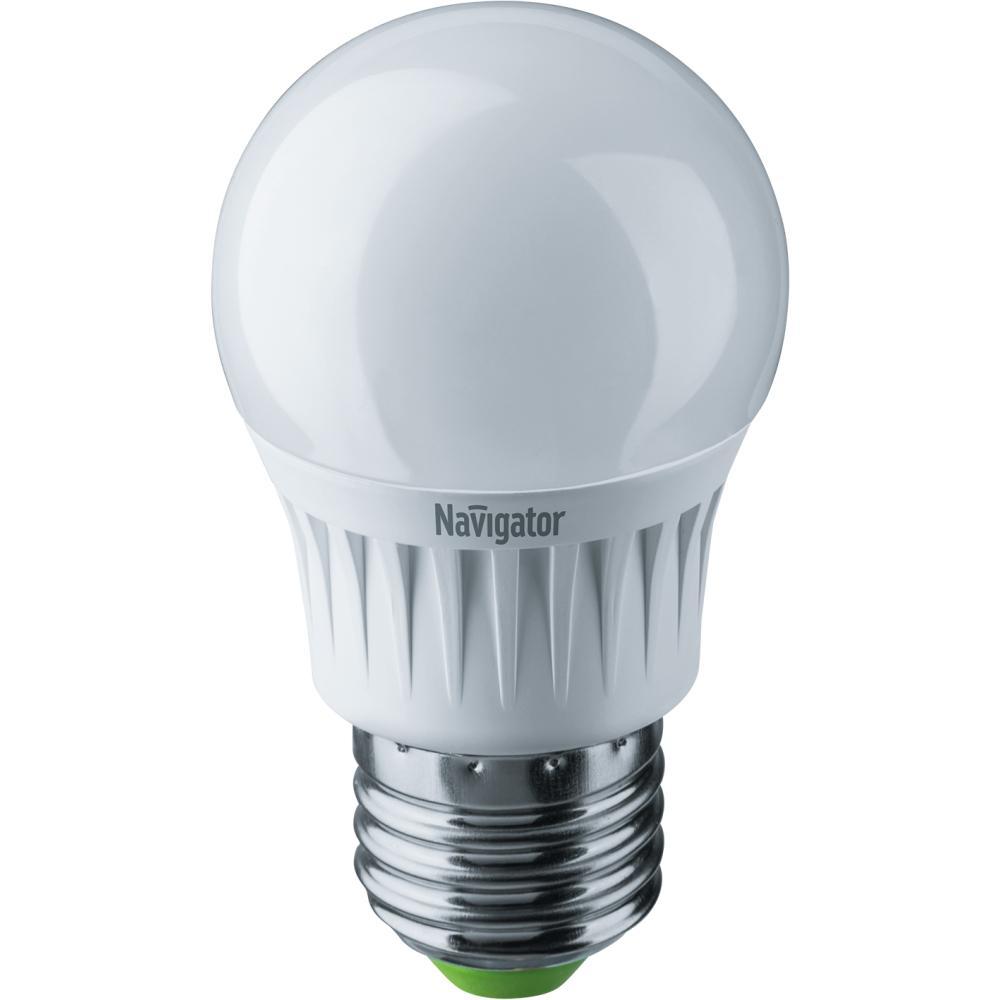 Лампа светодиодная Navigator 61 245 nll-g45-7-230-6.5k-e27 лампочка navigator 61 382 nll mr16 7 230 3k gu5 3 dimm
