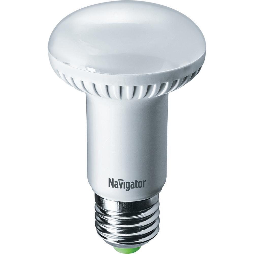 Лампа светодиодная Navigator 61 257 nll-r63-8-230-6.5k-e27 paulmann лампа накаливания рефлекторная для растений фито лампа r63 е27 60w синяя 50260