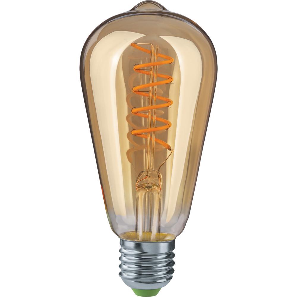 Лампа светодиодная Navigator 61 628 nll-f-st64-4-230-2.5К-e27-spiral коробкина т ред нижний новгород