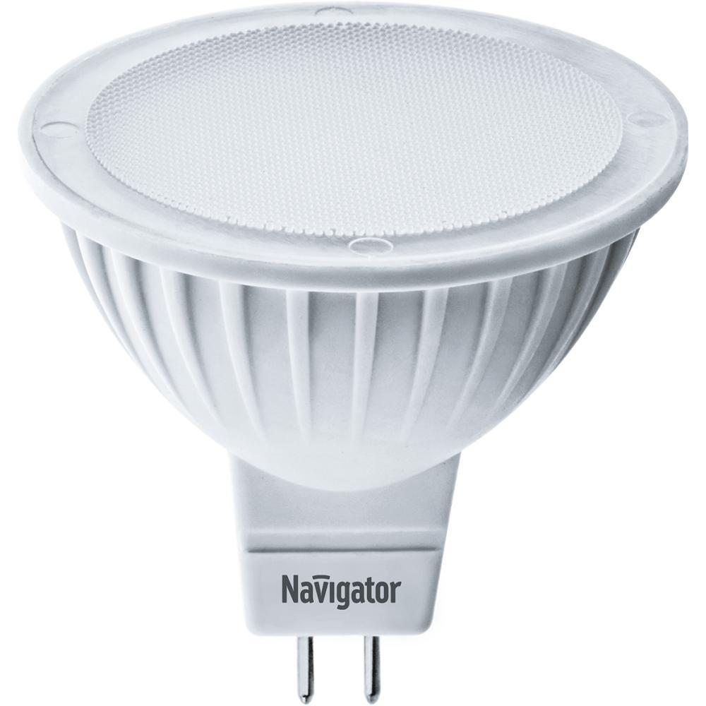 Лампа светодиодная Navigator 94 262 nll-mr16-5-12-3k-gu5.3 лампочка navigator 61 382 nll mr16 7 230 3k gu5 3 dimm