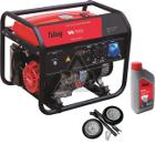 Бензиновый генератор FUBAG BS 5500 +Колеса Startmaster BS 7500 +Масло моторное Extra 838265