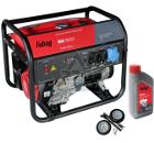 Бензиновый генератор FUBAG BS 6600 +Колеса Startmaster BS 7500 +Масло моторное Extra 838265