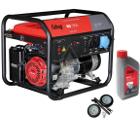 Бензиновый генератор FUBAG BS 7500 +Колеса Startmaster BS 7500 +Масло моторное Extra 838265