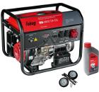 Бензиновый генератор FUBAG BS 6600 DA ES +Колеса Startmaster BS 7500 +Масло моторное Extra 838265
