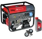 Бензиновый генератор FUBAG BS 7500 A ES +Колеса Startmaster BS 7500 +Масло моторное Extra 838265