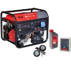 Бензиновый генератор FUBAG BS 8500 A ES +Колеса Startmaster BS 7500 +Масло моторное Extra 838265 +Блок автоматики BS 6600 (230V)