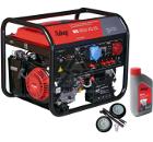 Бензиновый генератор FUBAG BS 8500 XD ES +Колеса Startmaster BS 7500 +Масло моторное Extra 838265