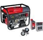 Бензиновый генератор FUBAG BS 6600 DA ES +Колеса Startmaster BS 7500 +Масло моторное Extra 838265 +Автоматика STARTMASTER BS 11500 D