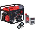 Бензиновый генератор FUBAG BS 8500 DA ES +Колеса Startmaster BS 7500 +Масло моторное Extra 838265 +Автоматика STARTMASTER BS 11500 D