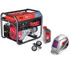 Бензиновый генератор FUBAG WHS 210 DDC +Колеса Startmaster BS 7500 +Масло моторное Extra 838265 +Маска BLITZ 9.13 Visor
