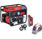 Бензиновый генератор FUBAG WS 230 DC ES +Колеса Startmaster BS 7500 +Масло моторное Extra 838265 +Маска BLITZ 9.13 Visor