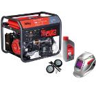 Бензиновый генератор FUBAG WS 230 DDC ES +Колеса Startmaster BS 7500 +Масло моторное Extra 838265 +Маска BLITZ 9.13 Visor