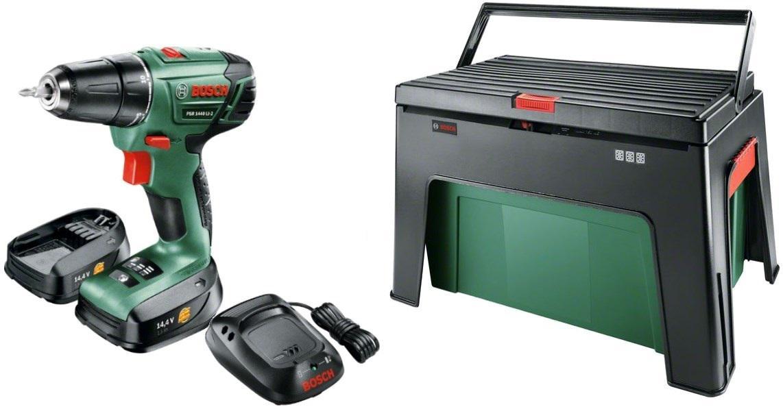 цена на Дрель-шуруповерт Bosch Psr 1440 li-2 + ящик workbox (06039a300d)