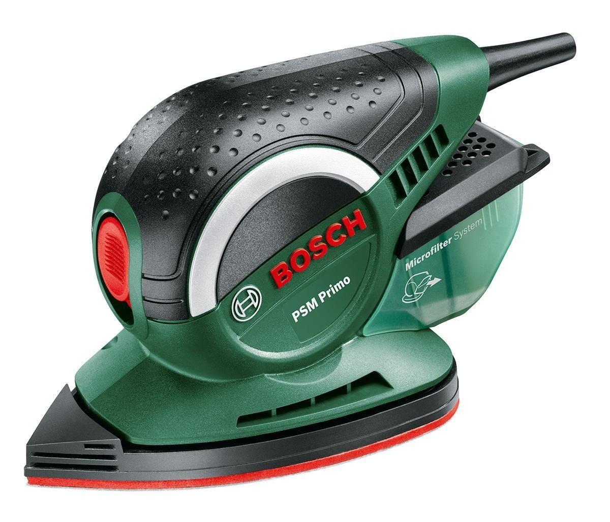 цена на Машинка шлифовальная плоская (вибрационная) Bosch Psm primo (06033b8020)