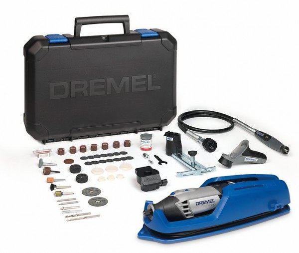 Гравер Dremel 4000- 4/65 +набор (f0134000lw) гравер dremel 8200 5 65 f0138200kr platinum