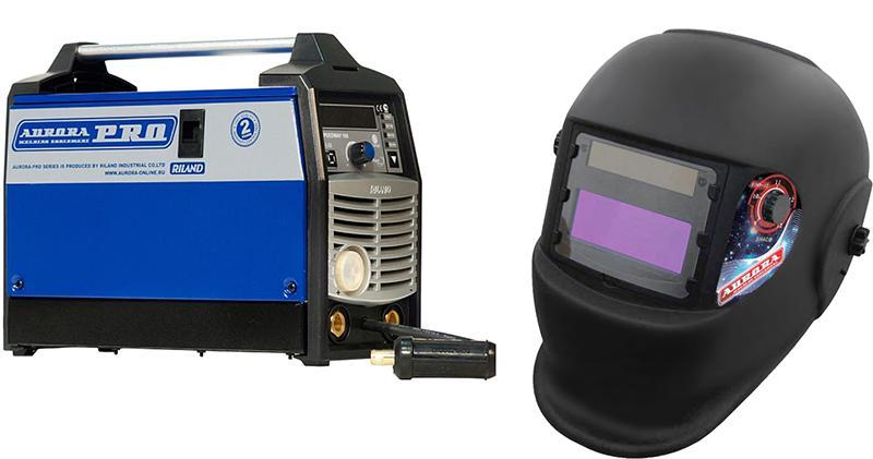 Набор Aurora pro Сварочный полуавтомат speedway 160 igbt +Маска a998f(9-13din) black cosmo сварочный полуавтомат aurora pro speedway 160 igbt 6700вт 120 220в mma tig mig mag 32а 200мм