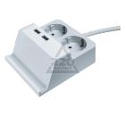 Удлинитель NAVIGATOR 61 457 NPE-USB03-02-150-E-3X1