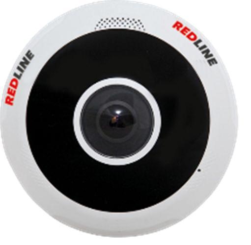 Фото - Камера видеонаблюдения Redline Rl-ip79p-hw-s видео