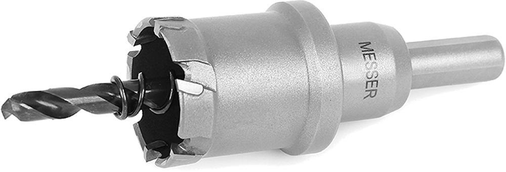 Коронка алмазная Messer Ф25мм шестигранник (20-25-025) алмазная шлифовальная фреза h 25 30 messer 01 52 032
