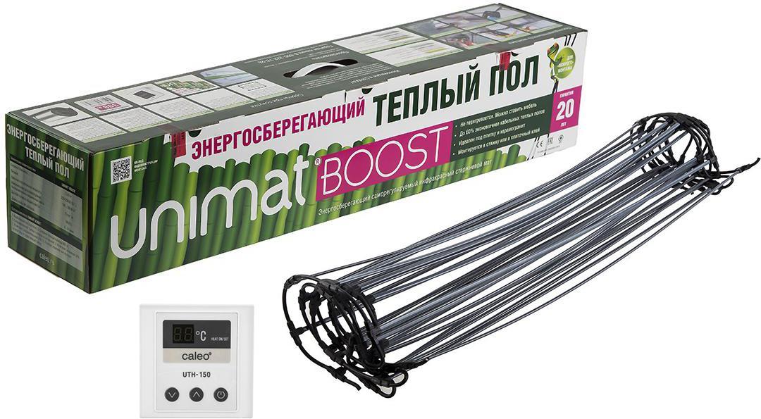 Набор Caleo Теплый пол unimat boost-0300 +Терморегулятор uth-150