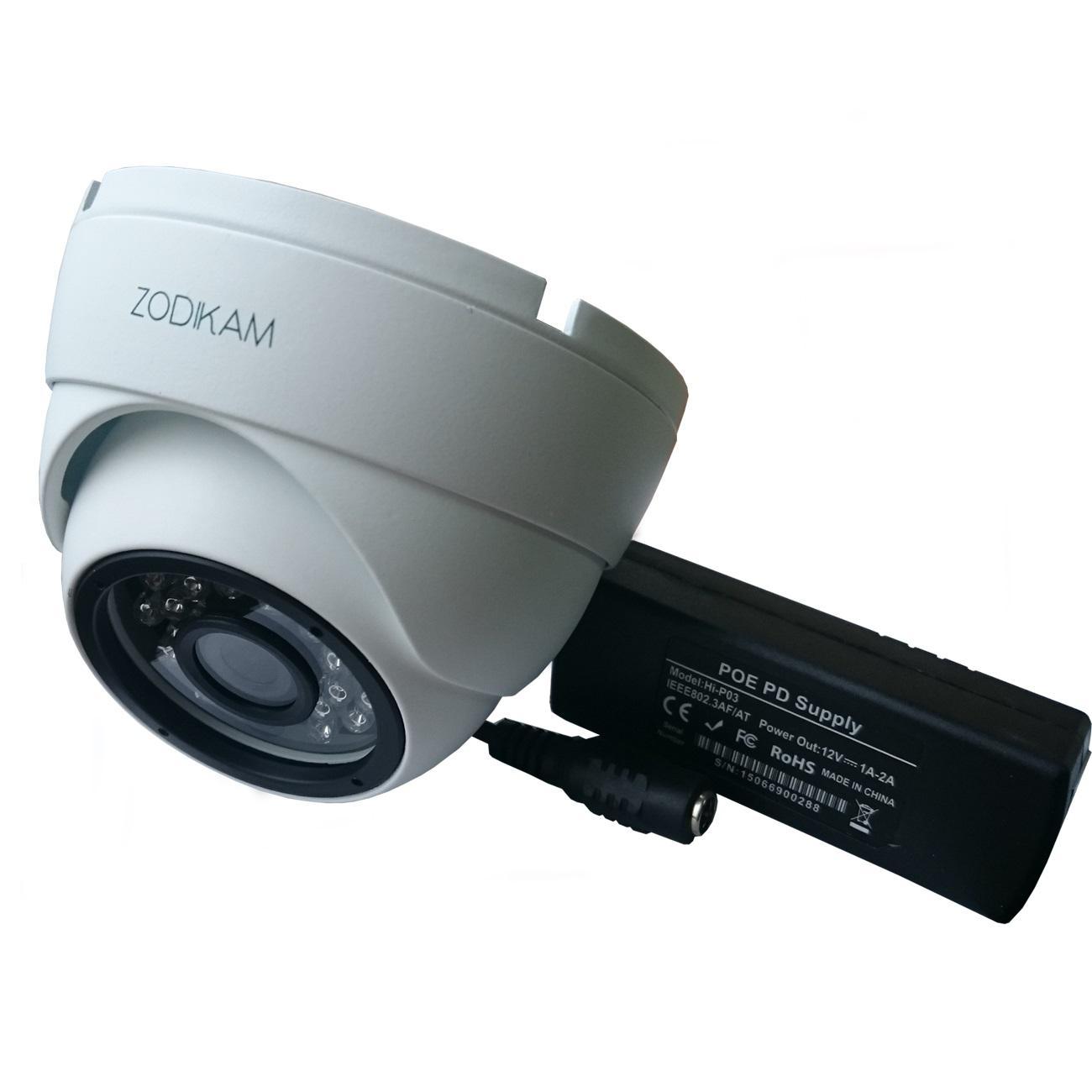 Фото - Камера видеонаблюдения Zodikam 3202-p 2.8 видео