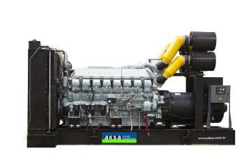 Дизельный генератор Aksa Apd 2100 m