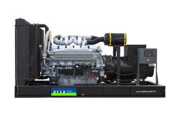 Дизельный генератор Aksa Apd 1100 m-А