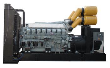 Дизельный генератор Aksa Apd 1650 m-А