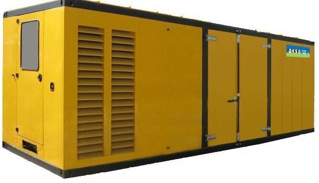 Дизельный генератор Aksa Apd 1100 m-КА