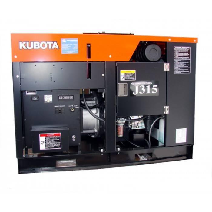 Дизельный генератор Kubota J315 (22770) j315