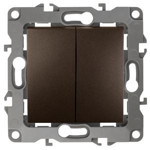 Выключатель двойной ЭРА 12-1004-13