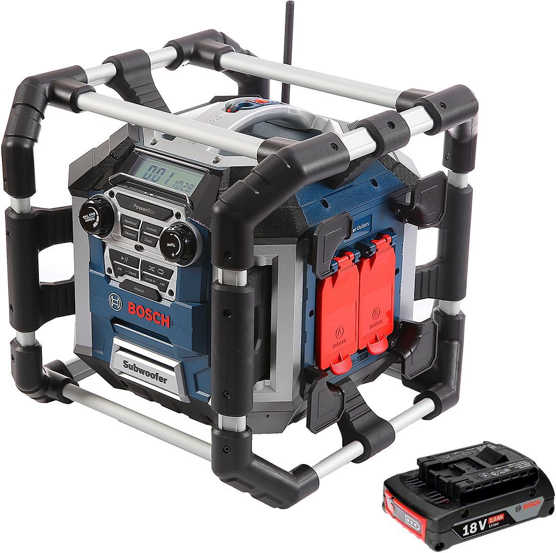 Фото - Набор Bosch Радио gml 50 power box (0.601.429.600) +Аккумулятор 1600z00036 аккумулятор