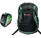Набор BOSCH Уровень UniversalLevel 3 Basic (0.603.663.900) +Рюкзак Green (1619G45200)