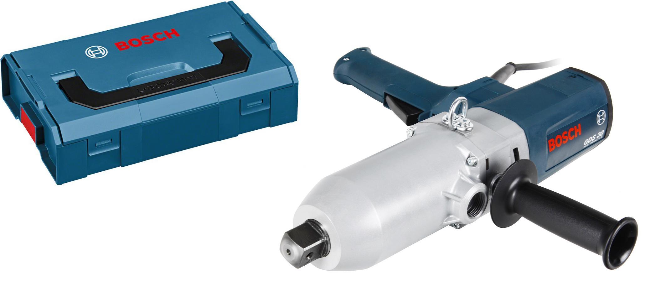 Набор Bosch Гайковерт gds 30 (0601435108) +Ящик l-boxx mini (1600a007sf)