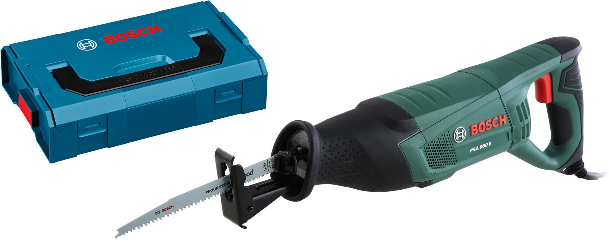 Набор Bosch Ножовка psa 900 e (0.603.3a6.000) +Ящик l-boxx mini (1.600.a00.7sf) bosch psa 900 e 0 603 3a6 000