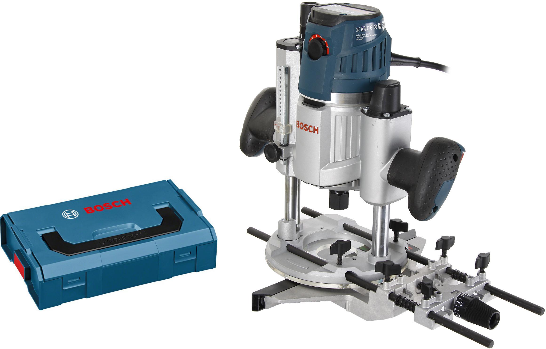 цена на Набор Bosch Фрезер gmf 1600 ce l-boxx (0.601.624.002) +Ящик l-boxx mini (1.600.a00.7sf)