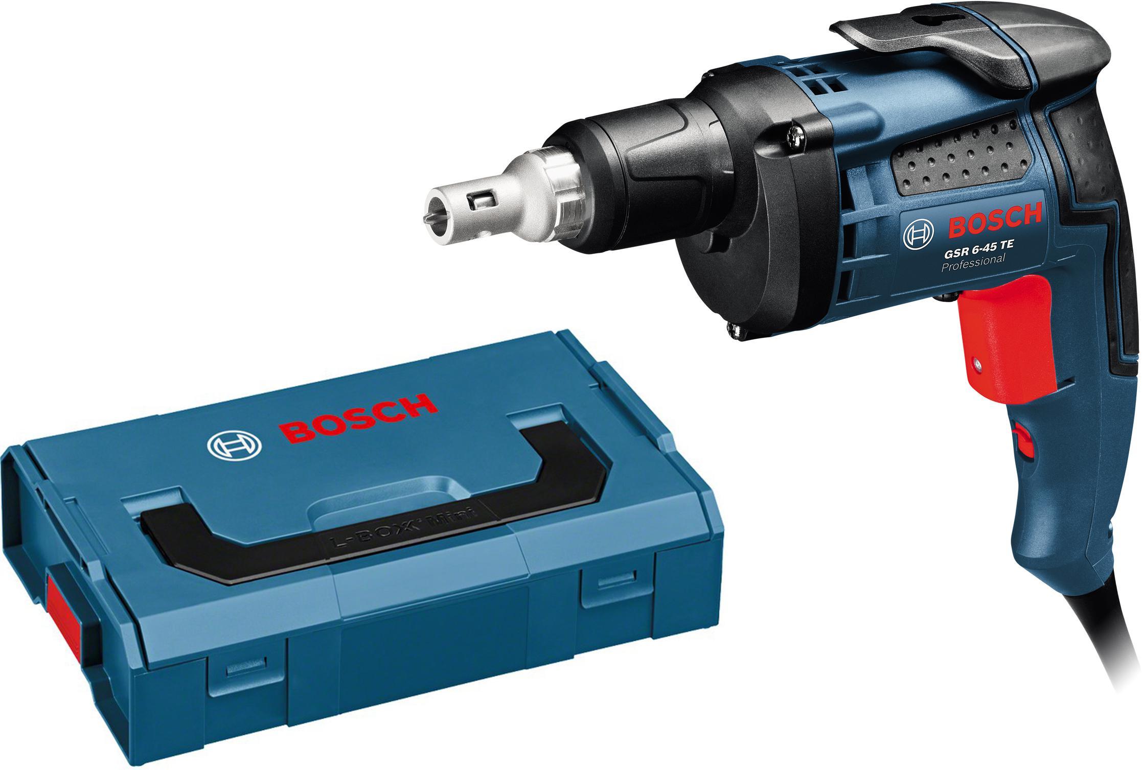 Набор Bosch Шуруповерт gsr 6-45 te (0.601.445.100) +Ящик l-boxx mini (1.600.a00.7sf) шуруповерт электрический bosch gsr 6 45 te 0 601 445 100