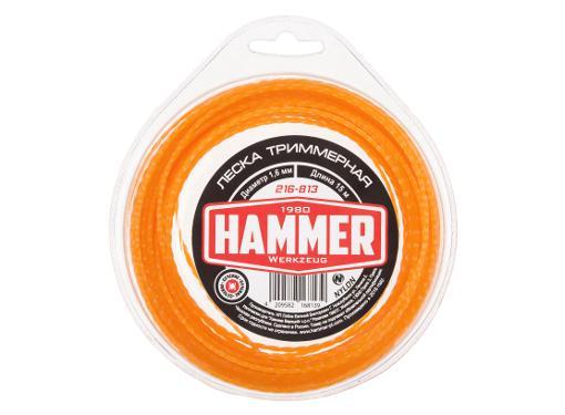 Леска для триммеров HAMMER 216-813