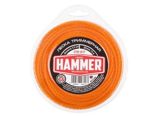 Леска для триммеров HAMMER 216-817