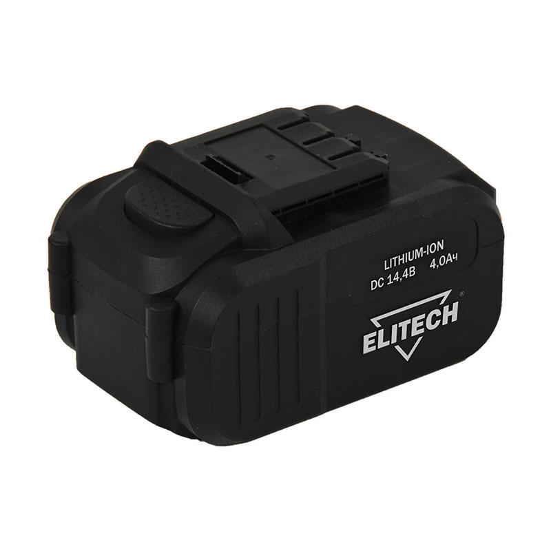 Аккумулятор Elitech 1820.067500 аккумулятор для да 18л 18 в 3 0 ач elitech 1820 011500