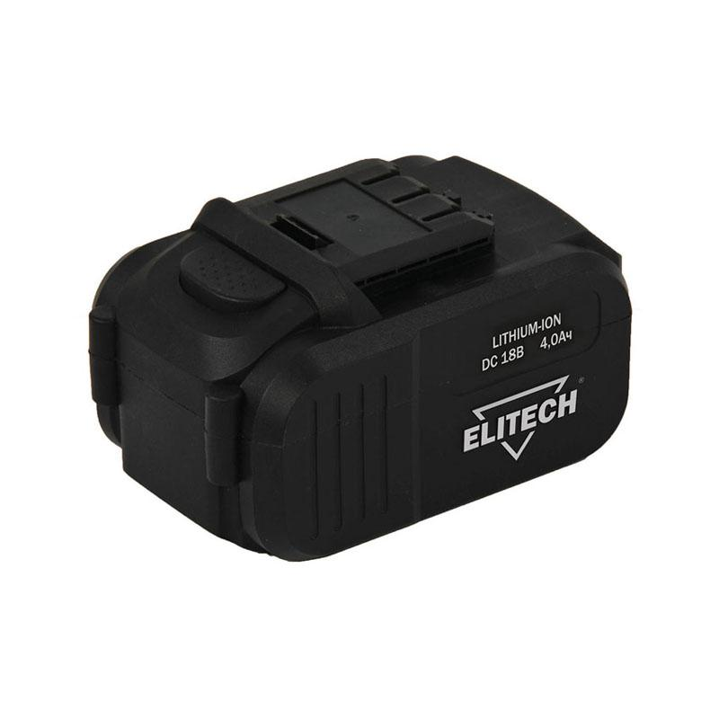 Аккумулятор Elitech 1820.067700 аккумулятор для да 18л 18 в 3 0 ач elitech 1820 011500
