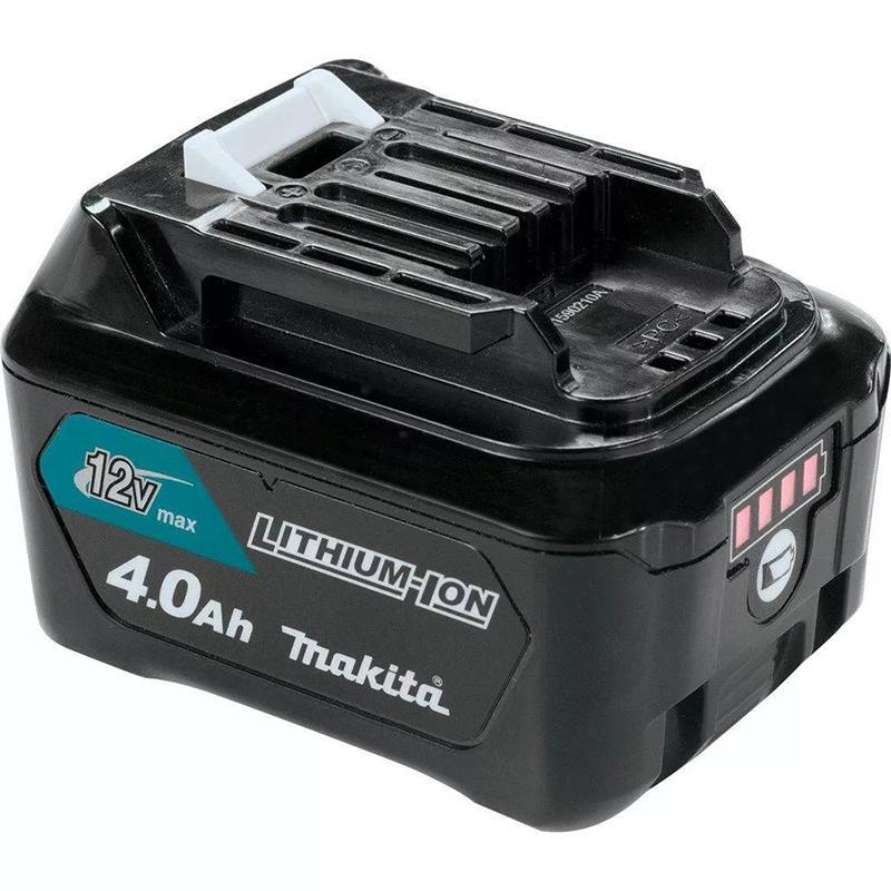 Аккумулятор Makita 12В 4Ач li-ion (197406-2) аккумулятор makita bl1021b li ion 12v 2ah слайдер 197396 9