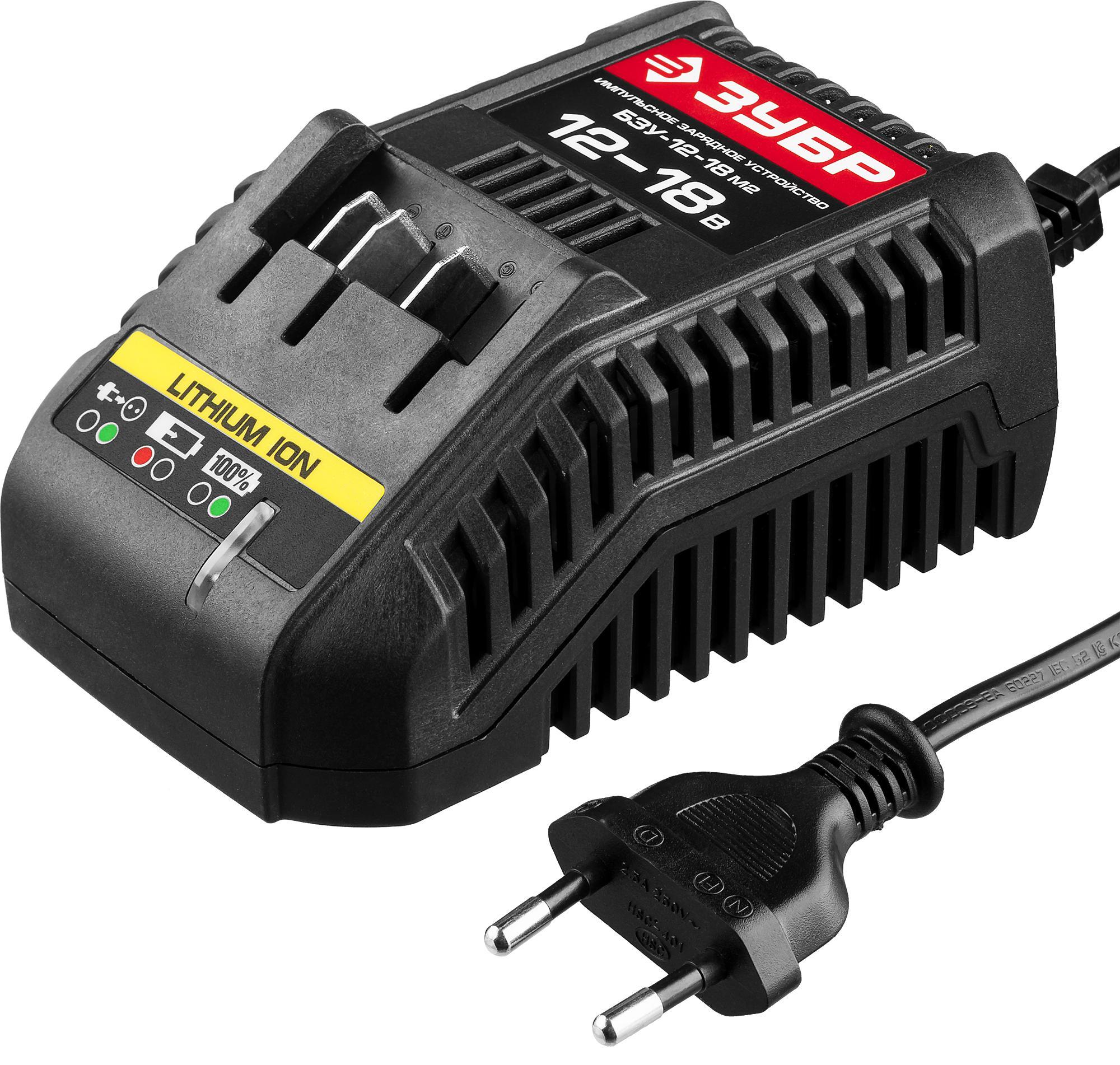 Зарядное устройство ЗУБР БЗУ-12-18 М2 зарядное устройство зубр 6в 12в 4а профессионал 59300